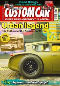 Ford Anglia 105e Magazine Covers Custom Car