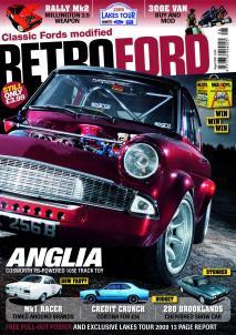 Autocar Autosport Classic Ford Motor Retro Ford & Ford Anglia 105E - Magazine Covers markmcfarlin.com