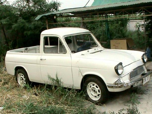 Photo's of a Ford Anglia Pick Up from Thailand.
