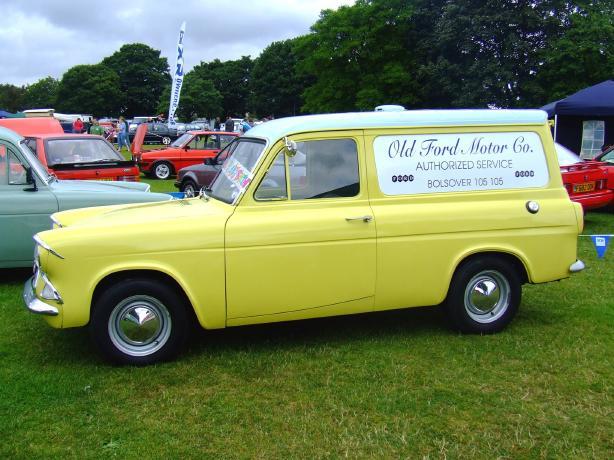 Ford Anglia 307e Van Photo 39 S Album No 10