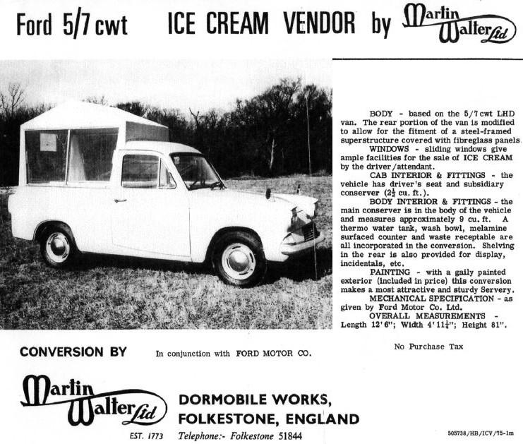 Walter Ltd ford anglia 307e martin walter conversion