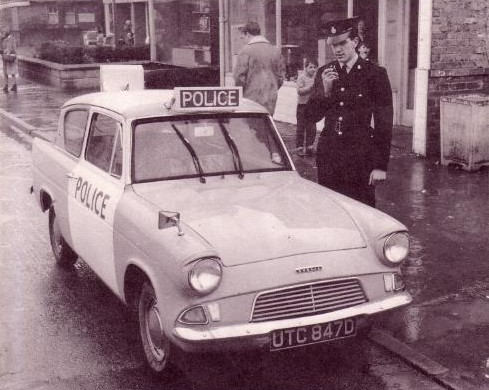 Ford Anglia S Serving With The Lancashire Constabulary