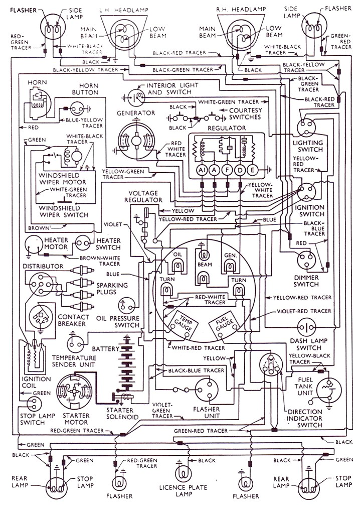 ford anglia 105e wiring diagram 1959 august 1965 rh anglia models co uk 2002 Ford Focus Wiring Diagram Ford Wiring Harness Diagrams